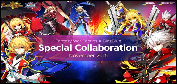 Fantasy War Tactics x BlazBlue Kollaboration